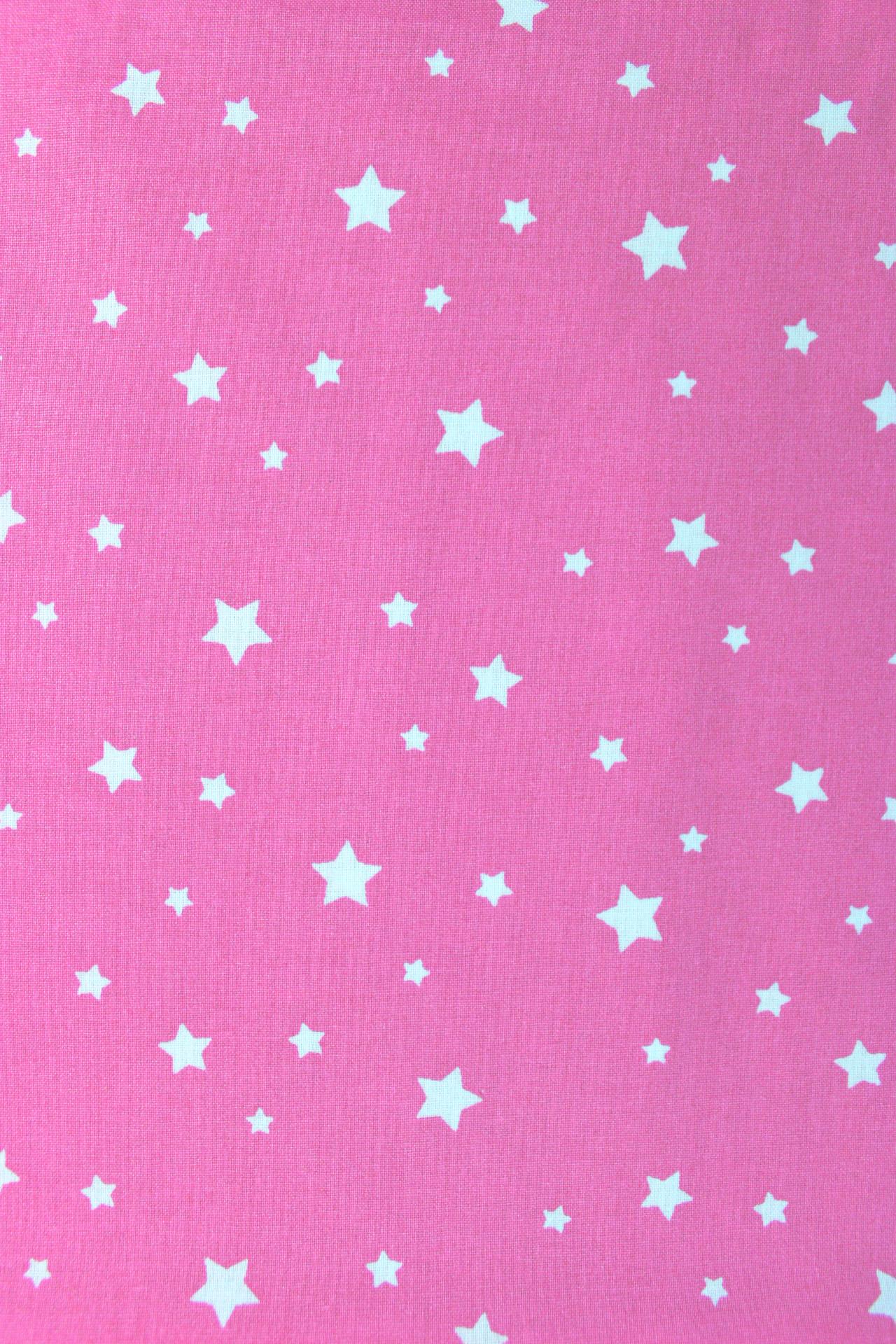 Bavlna hviezdičková ružová - Látky Magnólia 0ec8ce830e